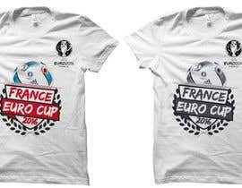 #7 for Create t-shirt design for Euro Cup 2016 by czsidou