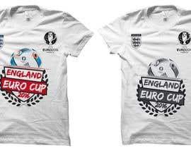 czsidou tarafından Create t-shirt design for Euro Cup 2016 için no 11
