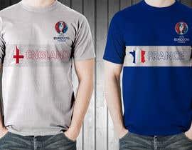 Farzeel26 tarafından Create t-shirt design for Euro Cup 2016 için no 5