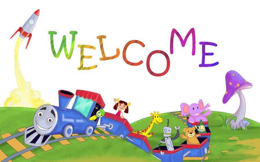 Penyertaan Peraduan #                                        30                                      untuk                                         Childbook author website homepage illustration