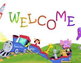 #30 untuk Childbook author website homepage illustration oleh karmachela