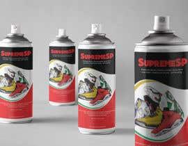 Nro 4 kilpailuun Product Label Design for Spray Paint Can käyttäjältä alexandracol