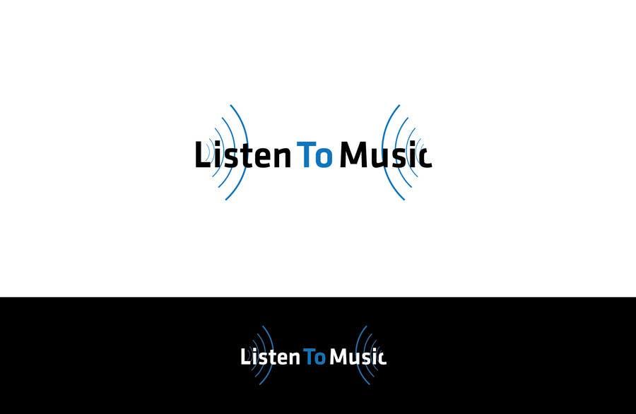 Bài tham dự cuộc thi #128 cho Logo Design for Listening to music
