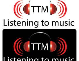 #131 pentru Logo Design for Listening to music de către smnminhas