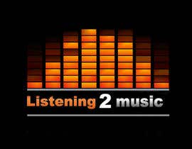 nº 162 pour Logo Design for Listening to music par kingspouch