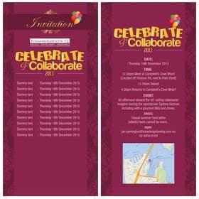 #4 for Design a DL Size invitation for End of Year Celebration by swethanagaraj