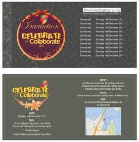 #6 for Design a DL Size invitation for End of Year Celebration by swethanagaraj