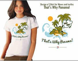 #8 untuk Design a T-Shirt for Waves and turtles oleh roman230005