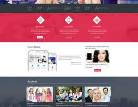 #31 for Home Page Design for a Corporate Site ( Would evolve into long term contract) by SadunKodagoda