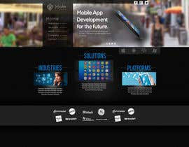 #12 for Home Page Design for a Corporate Site ( Would evolve into long term contract) by AlexZWoahWeb