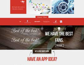 #35 for Home Page Design for a Corporate Site ( Would evolve into long term contract) by AlexZWoahWeb
