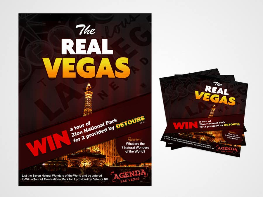 Contest Entry #                                        24                                      for                                         Graphic Design for Vegas based contest