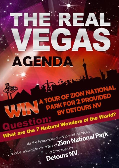 Konkurrenceindlæg #                                        5                                      for                                         Graphic Design for Vegas based contest