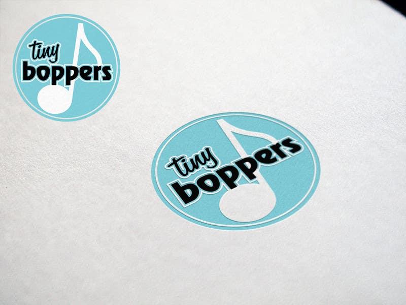 Kilpailutyö #37 kilpailussa Design a logo for Tiny Boppers - a preschool music & movement class