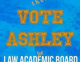 Nro 3 kilpailuun A5 flyer for student election käyttäjältä afm28