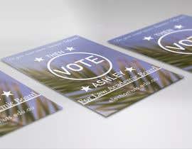 Nro 7 kilpailuun A5 flyer for student election käyttäjältä veljkoilic