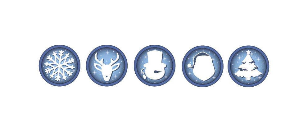 Contest Entry #                                        5                                      for                                         Design 5 Christmas Icons