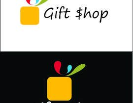 #24 cho Design a Logo and facebook cover Name: Gift$hop bởi Meer27