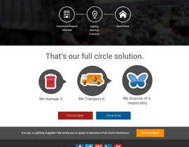 #11 for Landing page website design with 125 dollars follow up project for the winner! by andviel