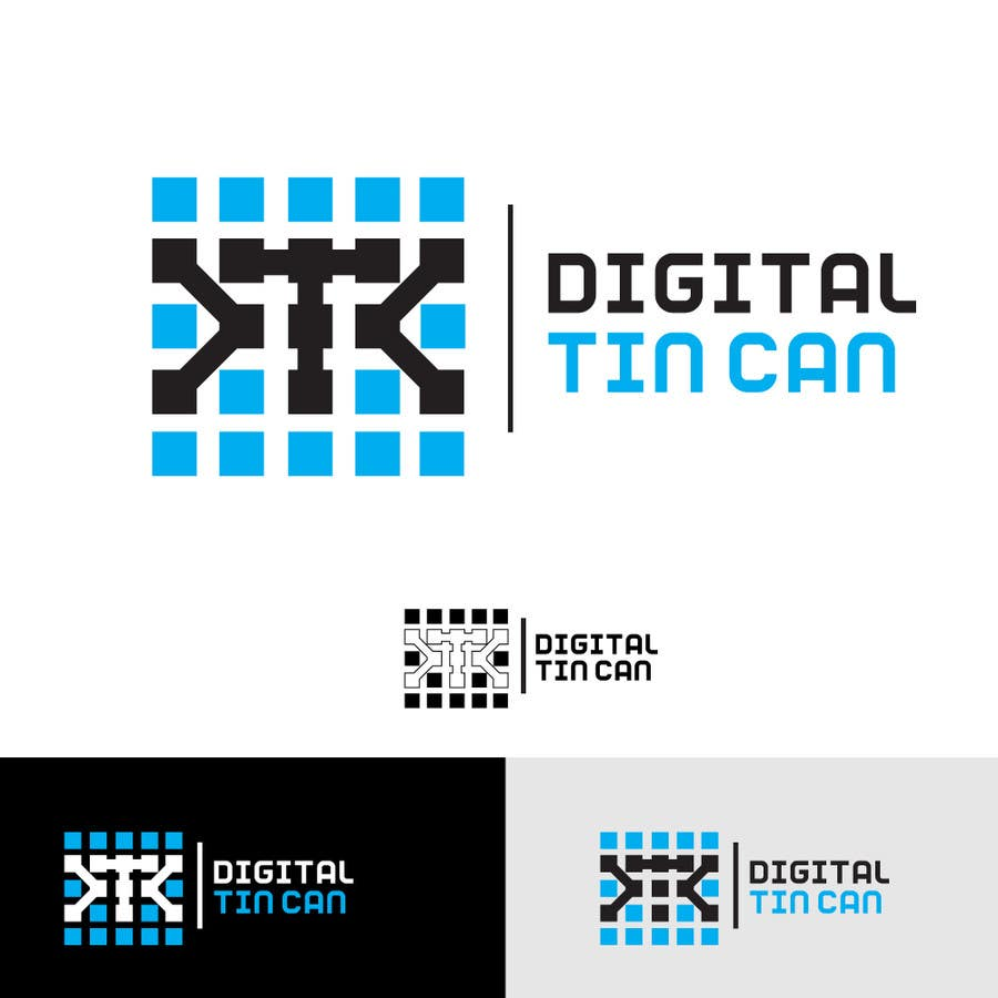 Kilpailutyö #48 kilpailussa Design a Logo for Digital Tin Can