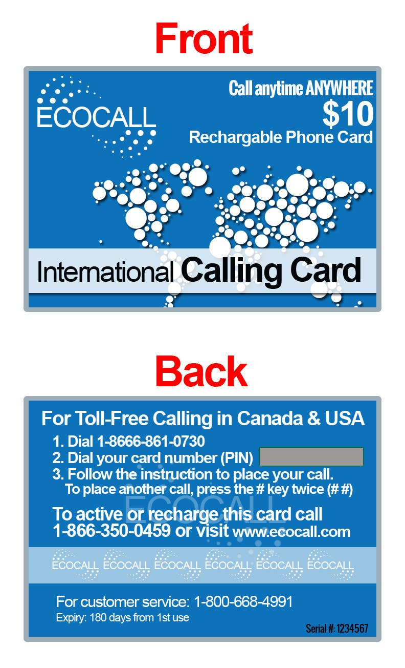 #21 for Prepaid Calling Card Design by sharpBD