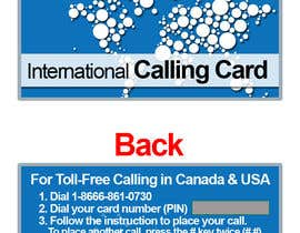 #21 for Prepaid Calling Card Design af sharpBD