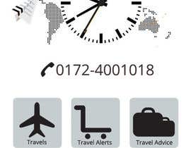 #47 for Design the main page for a travel security app by MagicalDesigner
