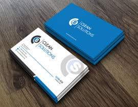 Nro 30 kilpailuun Business Card - Clean Solutions käyttäjältä taniim