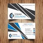 Business Card - Clean Solutions için Graphic Design12 No.lu Yarışma Girdisi