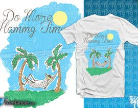 "#13 untuk Design a T-Shirt for ""Do More Hammy Time"" oleh artist78"