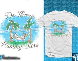 "#14 untuk Design a T-Shirt for ""Do More Hammy Time"" oleh artist78"