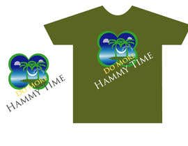 "#34 untuk Design a T-Shirt for ""Do More Hammy Time"" oleh billahdesign"