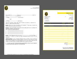 #4 para invoice and contract layout for security company por anirban475