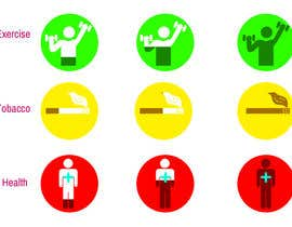 #22 for Design some Icons for a Health Care Questionaire af toderascnd