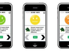 #59 para Single Screen/ Icons for a mobile application. por xrevolation
