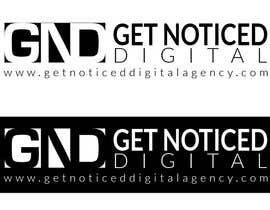 xnegris tarafından Design a logo for Get Noticed Digital and you will also get noticed! için no 10
