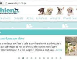 Nro 38 kilpailuun Design a (simple) logo for an editorial website about dogs käyttäjältä KalimRai