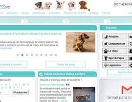 Nro 48 kilpailuun Design a (simple) logo for an editorial website about dogs käyttäjältä tmesquita88