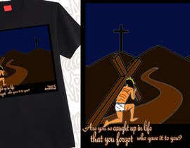 nº 10 pour Christian T-shirt Design for Grace 5 Apparel par psalm08