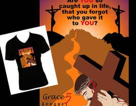 nº 27 pour Christian T-shirt Design for Grace 5 Apparel par JulieSneeden