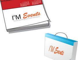 #44 para Design a Logo for  I'M EVENTS por uzairuzzi