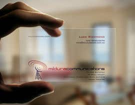 #17 untuk Business Card Design for Mildura Communications oleh F5DesignStudio