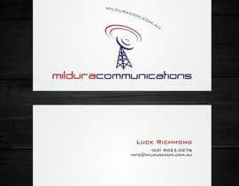 #20 cho Business Card Design for Mildura Communications bởi F5DesignStudio