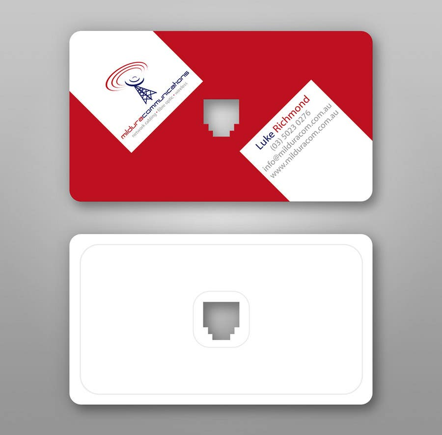 Inscrição nº                                         41                                      do Concurso para                                         Business Card Design for Mildura Communications