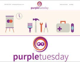 #24 cho Design a Logo for Purple Tuesday bởi mgstefanescu