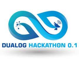 Nro 43 kilpailuun Design a sticker for a company hackathon. käyttäjältä tk6986