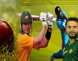 #4 for Design a Banner for international cricket website by Misbahullah16
