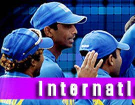 nº 3 pour Design a Banner for international cricket website par surabi123