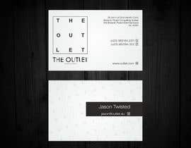 #68 untuk Business Card Design for The Outlet Fashion Company oleh F5DesignStudio