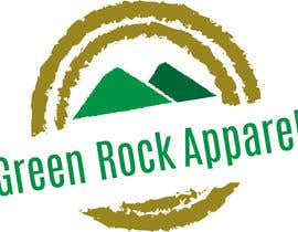 nº 28 pour Design a Logo for Green Rock Apparel par LDRWarlock